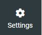 Webmail settings gear icon