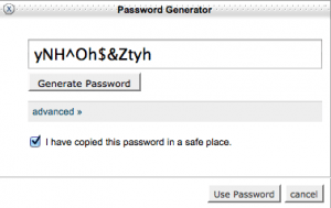 Email password generator