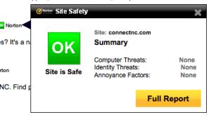 Norton ConnectSafe ConnectNC Internet