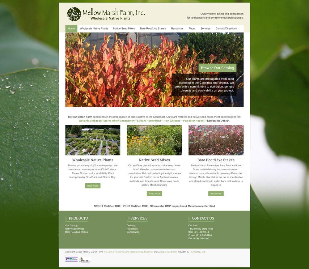 1bcc667d947 Mellow Marsh Farm – WordPress Web design