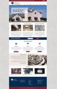 Village Heritage Foundation website design Pinehurst North Carolina