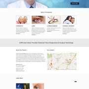 Griffin Eye Center web design