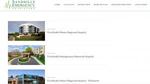 Sandhills Emergency Physicians location